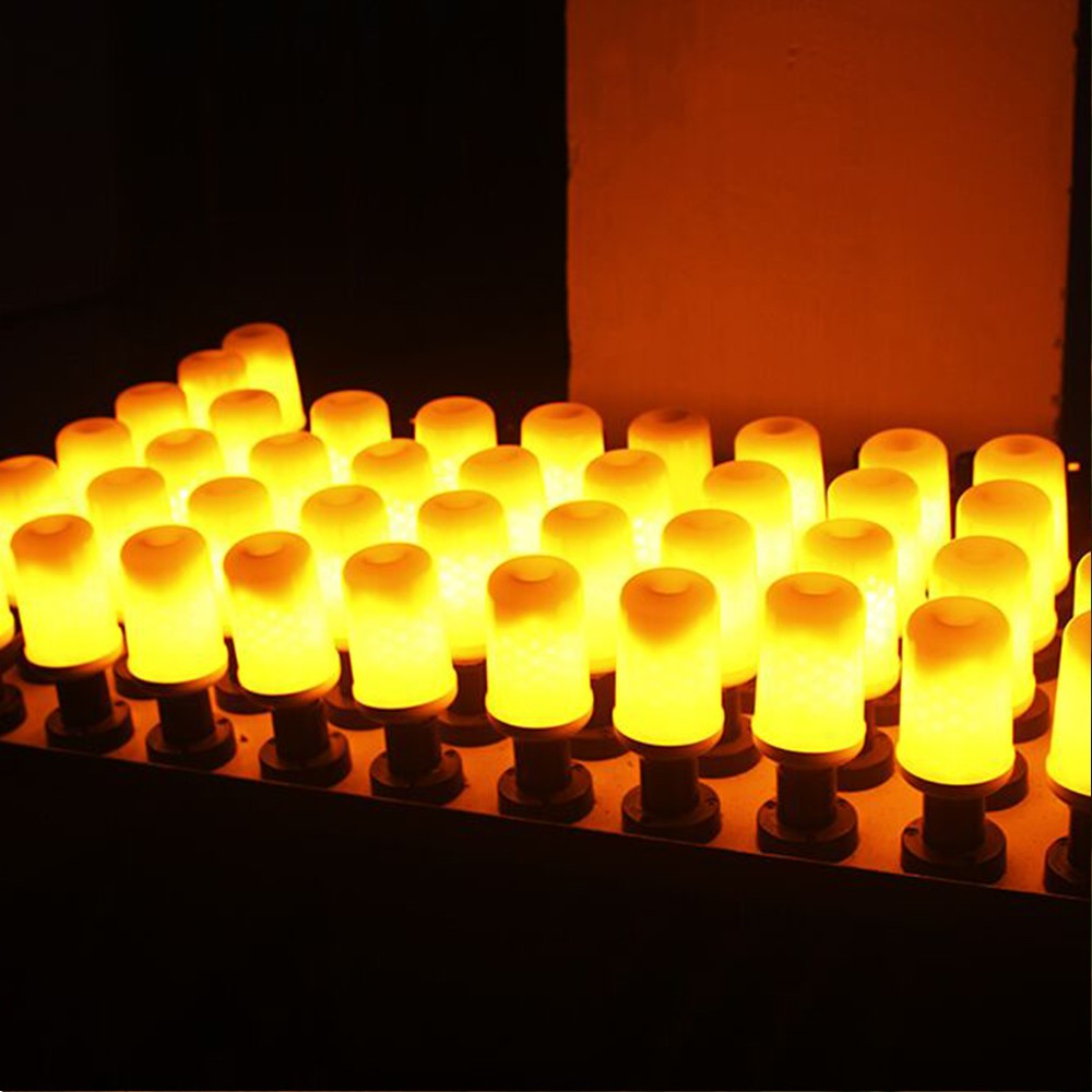Best LED Flame Flickering Effect Fire Light Bulb SMD2835