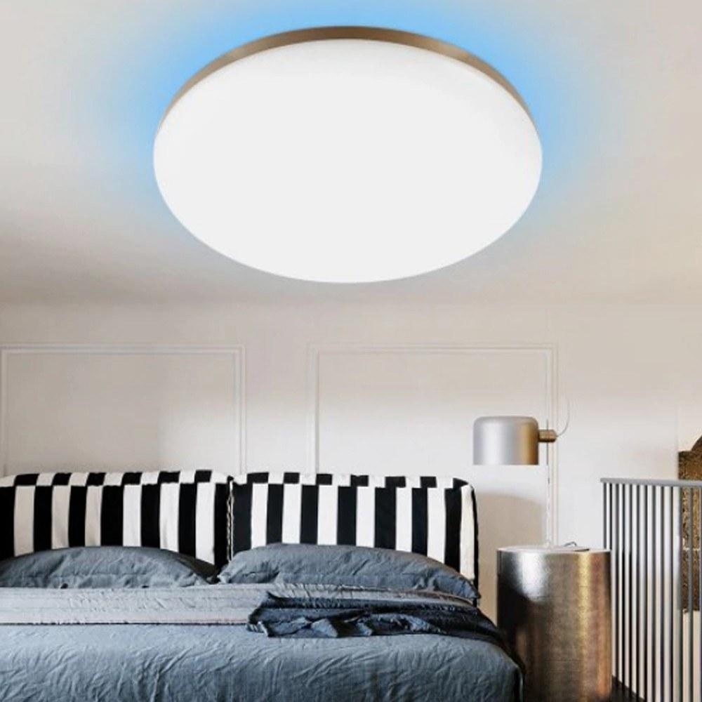 cafago.com - 56% OFF Yeelight YLXD50YL 470mm 50W 160pcs RGB LEDs Intelligent Ceiling Light,free shipping+$106.73