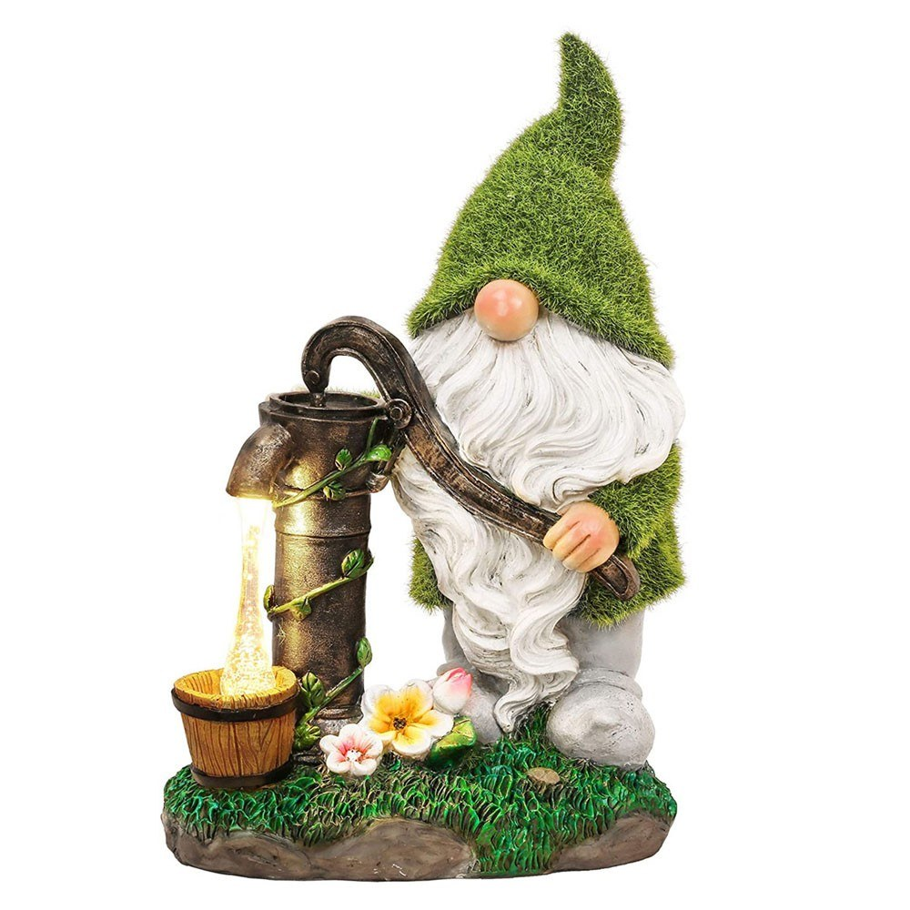 tomtop.com - 54% OFF Solar Outdoor Garden Resin Decoration, Free Shipping $57.99