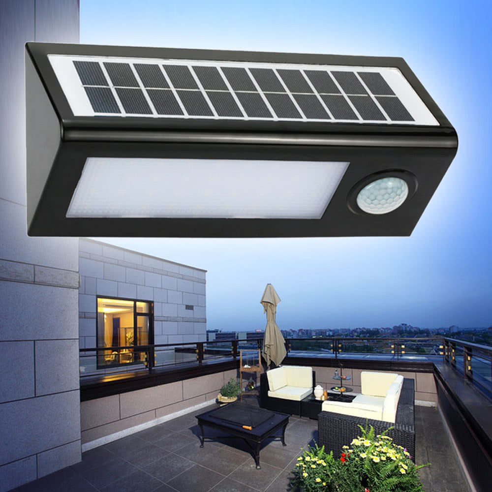 meilleur solaire ext rieur pir powered d tecteur de vente en ligne. Black Bedroom Furniture Sets. Home Design Ideas