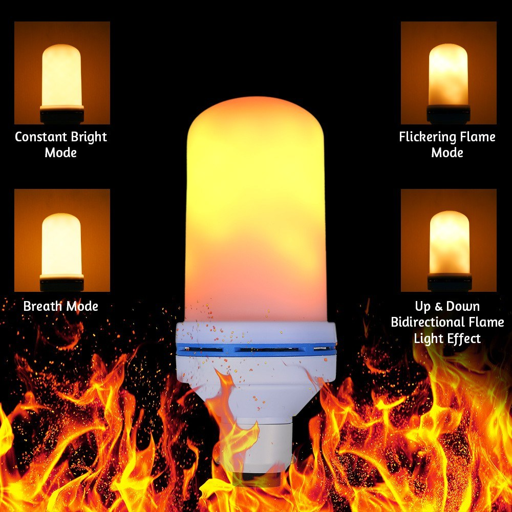 5125-OFF-AC220V-7W-108-LED-Flame-Flickering-Effect-Fire-Light-Bulblimited-offer-24839