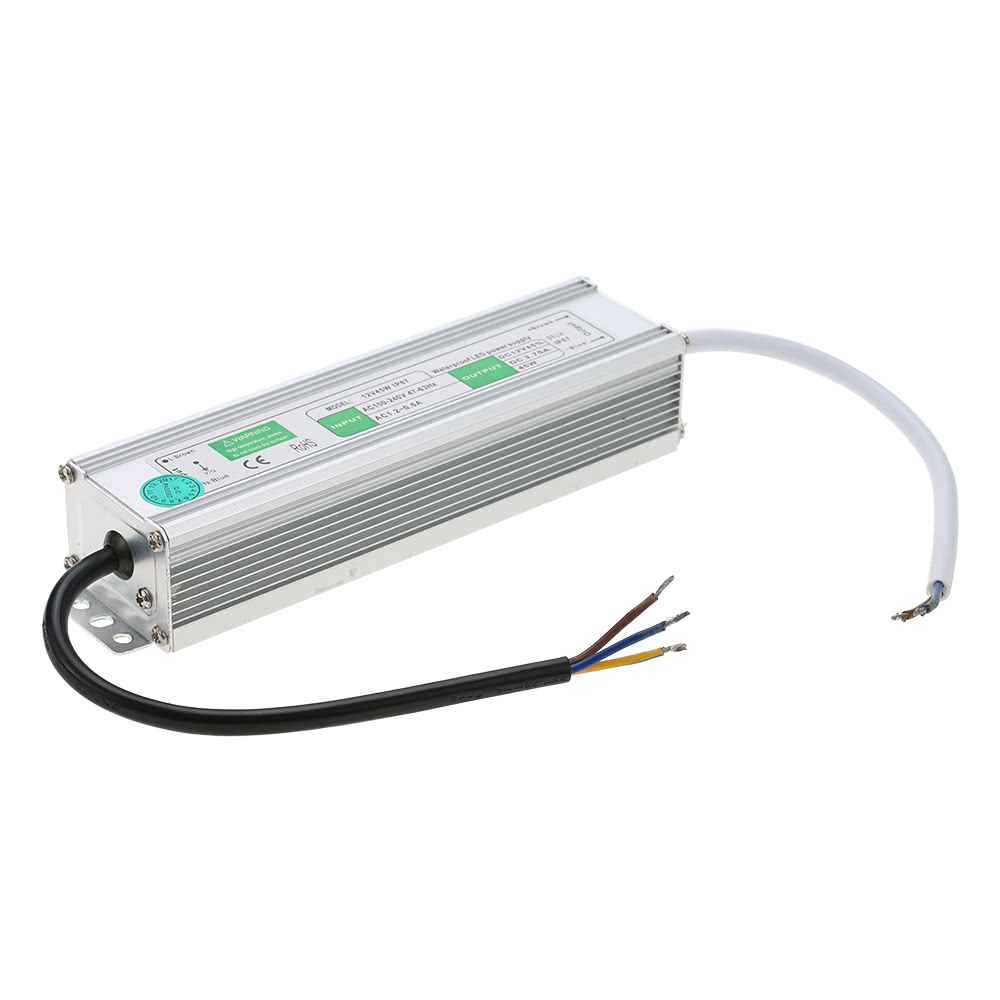 12v Waterproof Ip67 Led Switching Power Supply Transformer For Amplifier Wiring Moreover Electronic Dog Repellent Circuit Indoor And Outdoor Installation Sales Online 45w Tomtop