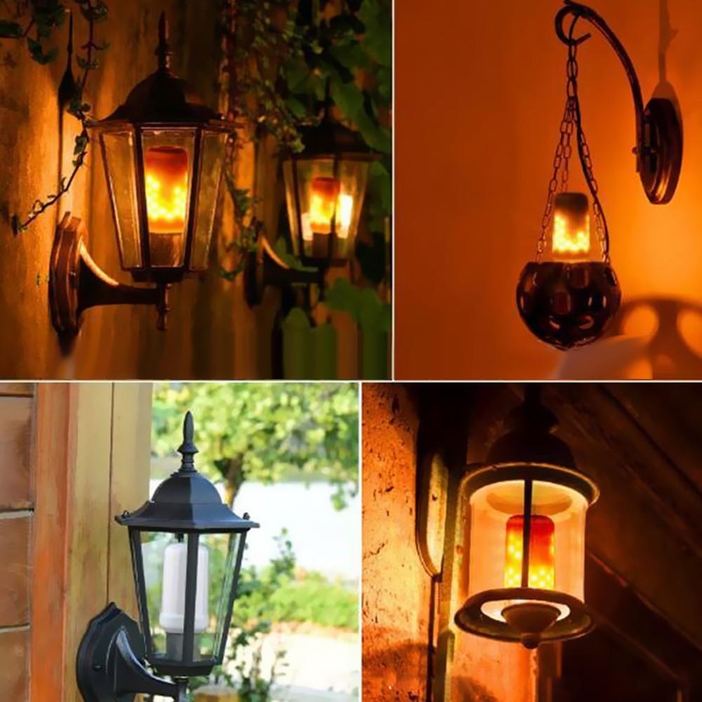 best tomshine led flame flickering effect fire light bulb 3 eu sale online shopping. Black Bedroom Furniture Sets. Home Design Ideas