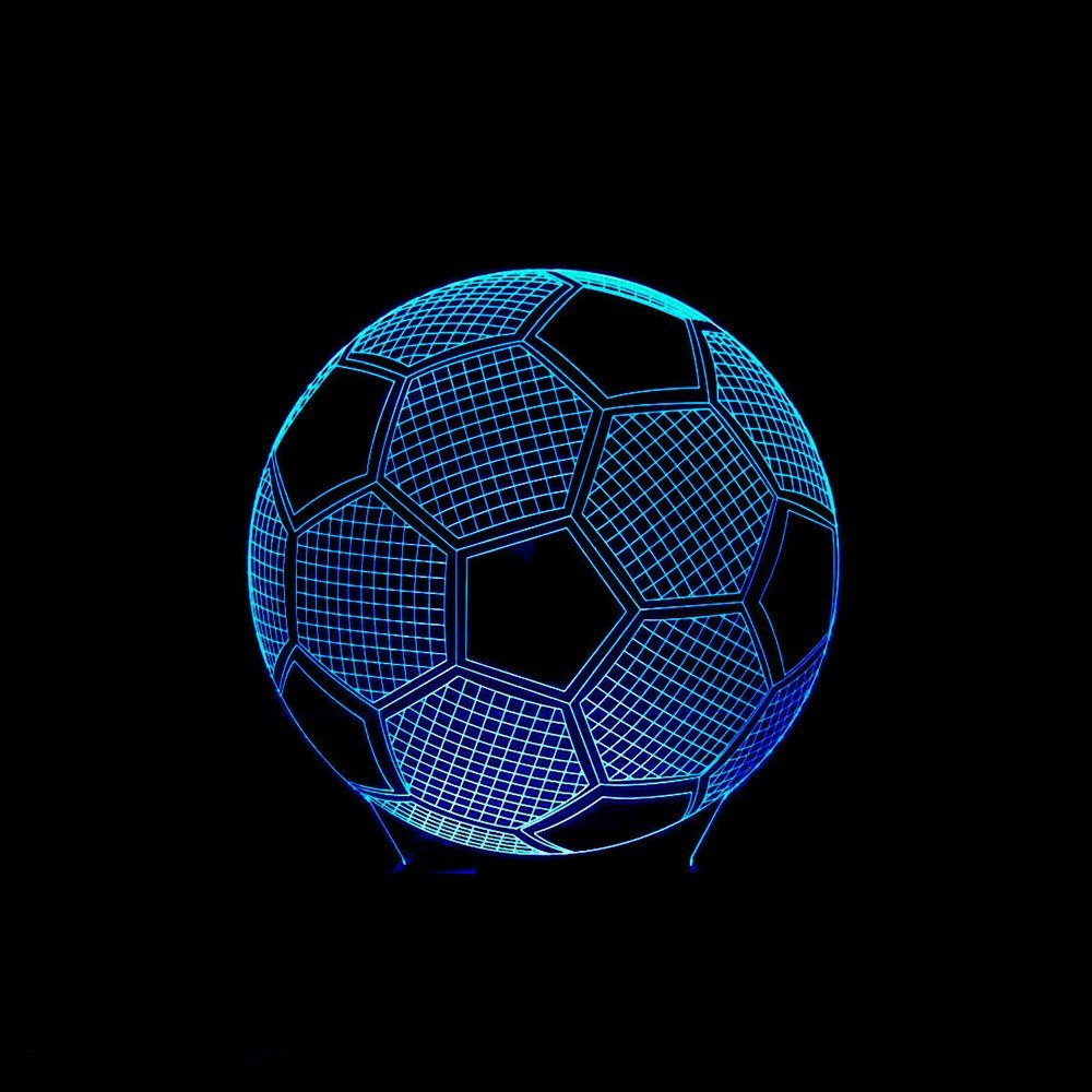 Beste 3d Fussball Fussball Illusion Lampe Led Nachtlicht Fur Verkauf Online Einkaufen Cafago Com