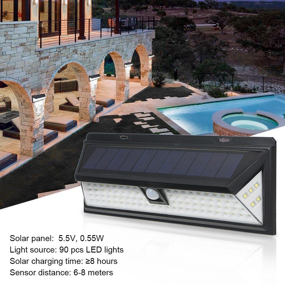 5025-OFF-90-LEDs-Solar-Power-PIR-Motion-Sensor-3-Modes-Wall-Lightlimited-offer-242199
