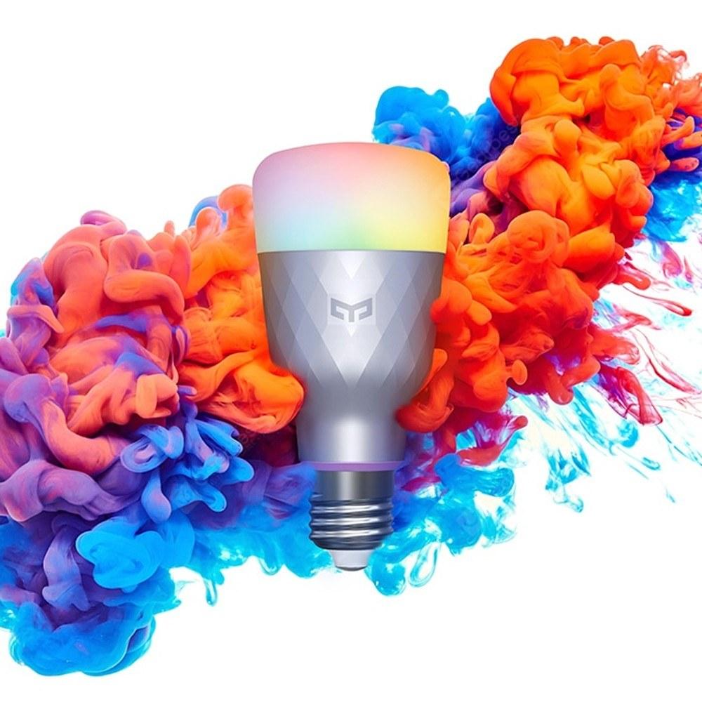 Tomtop - 55% OFF Yeelight 1SE E27 AC100-240V 6W RGBW Intelligent LEDs Light Bulb, Limited Offers $17.99