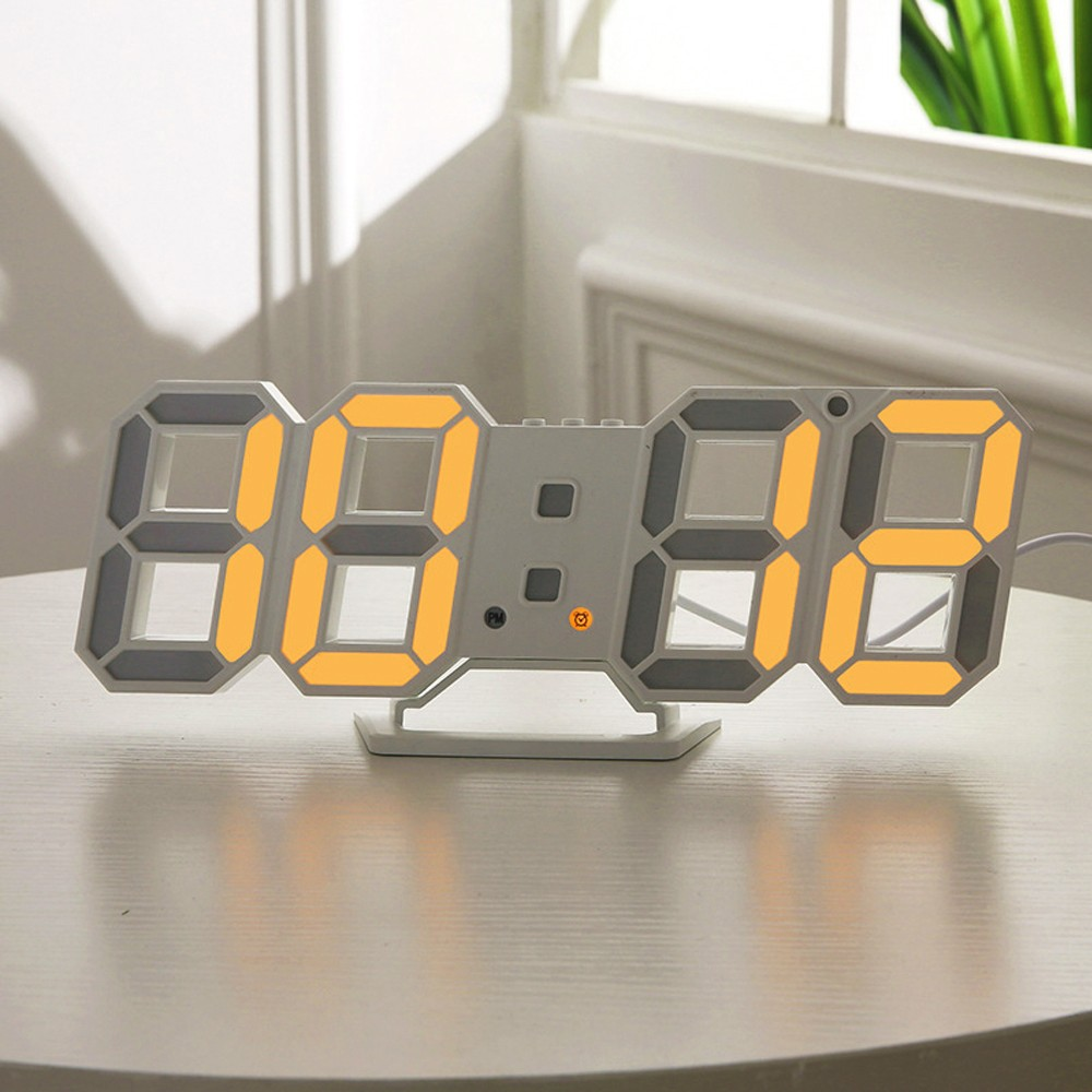 $5 OFF Digital LED Clock Alarm Table Night Wall Watch,free shipping $14.99