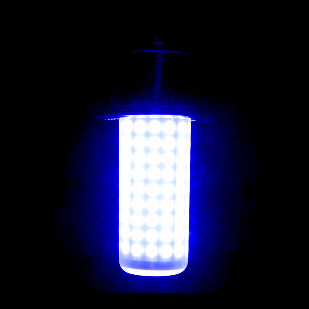 Best led lure light underwater fish attractor blue sale for Best underwater fishing lights
