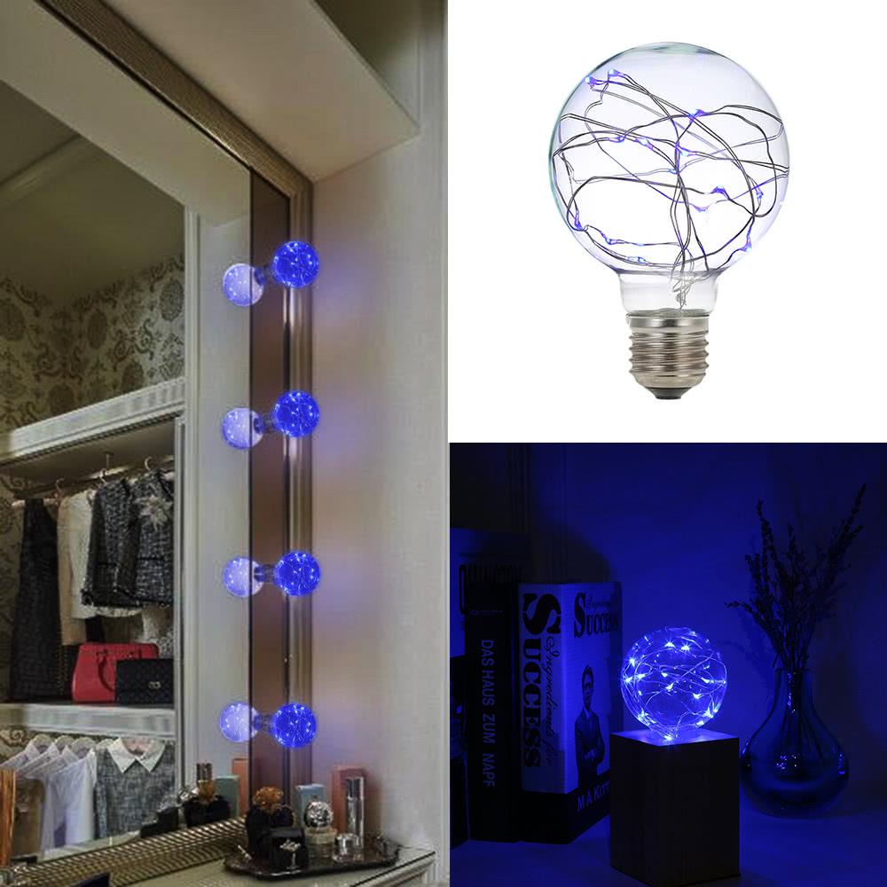 Copper Led String Lights Nz : Best 220-240V E27 Copper Wire String Light Fairy LED blue Sale Online Shopping Cafago.com
