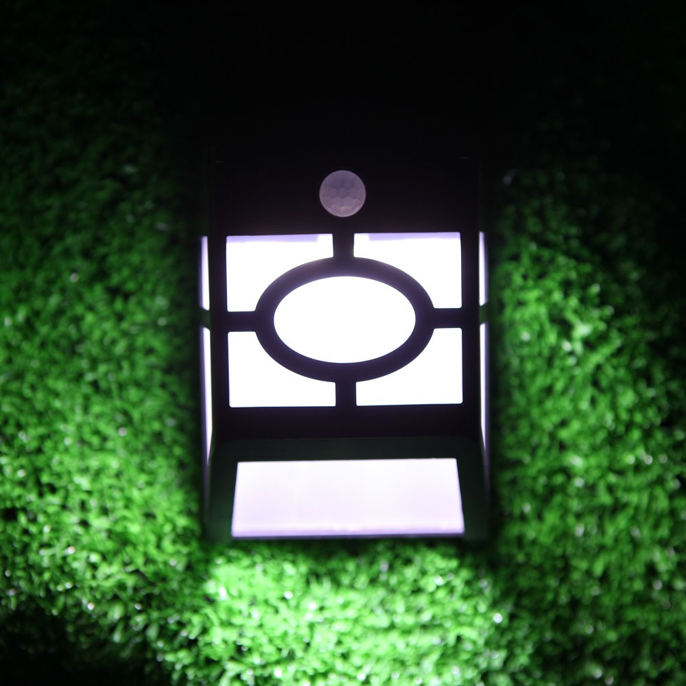 Solar Panel Pir Motion Light Sensor 10 Led Wall Lamp Powered Garden With Rechargeable Mounted For Outdoor Pathway Driveway Decks Docks Garage Stairways Sales
