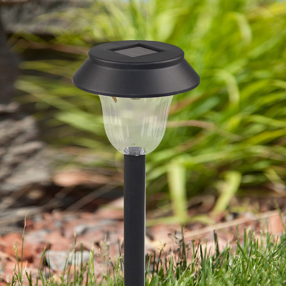 Landscape Lighting Online: 2 Pieces Solar Powered Lamp Security Outdoor Wireless