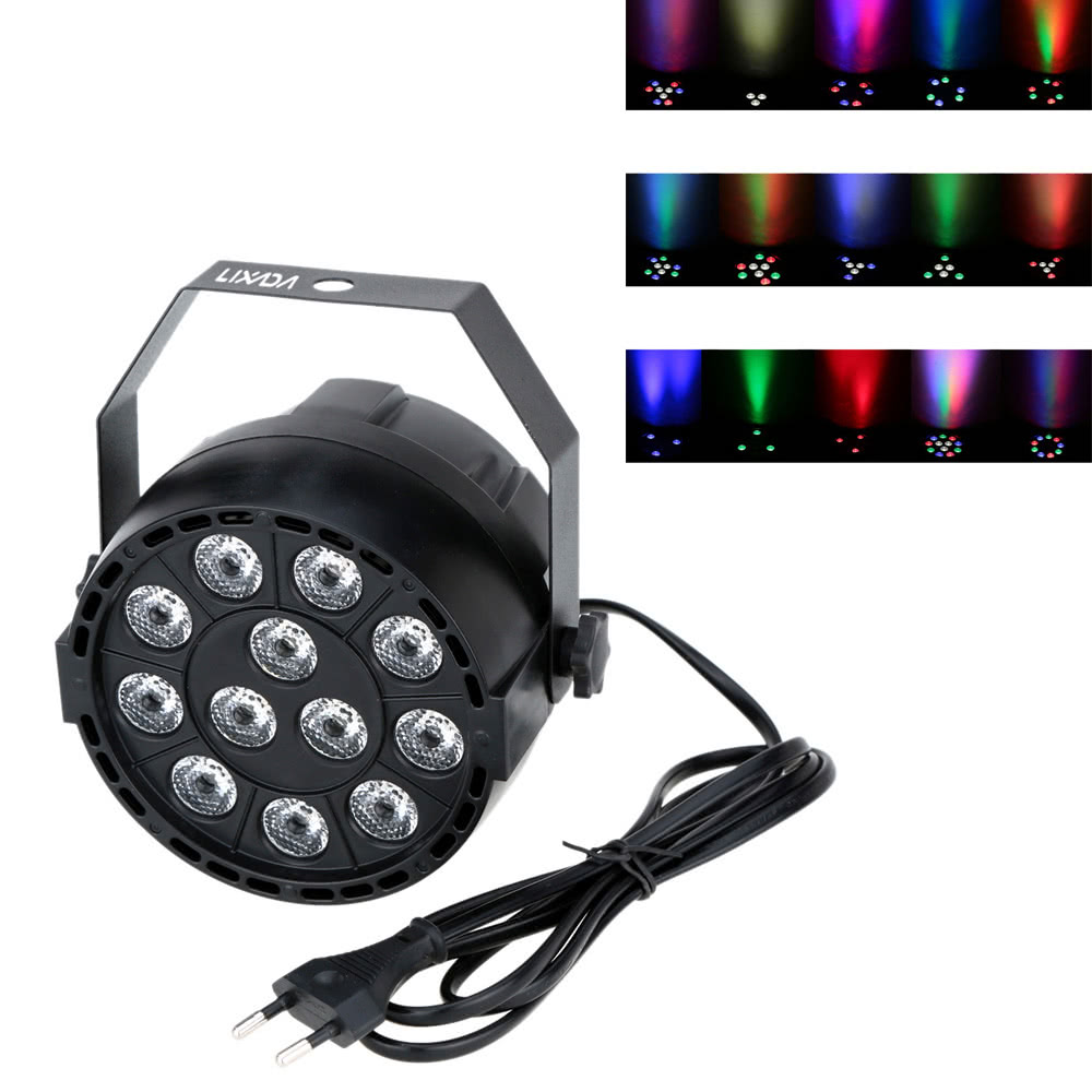 6525-OFF-Lixada-15W-12LEDs-DMX-512-RGBW-Stage-PAR-Lightlimited-offer-241599