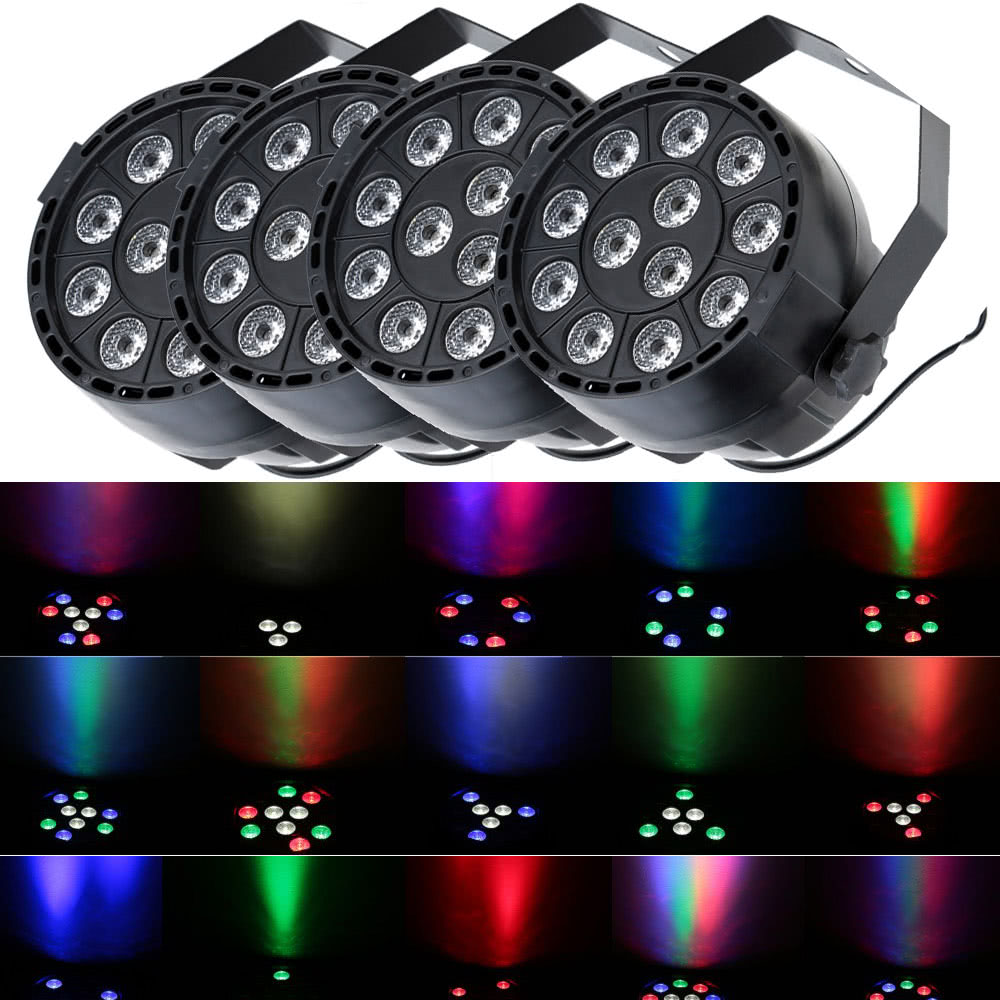 sc 1 st  Tomtop.com & Lixada 15W RGBW LED Stage PAR Light Sales Online Array - Tomtop azcodes.com