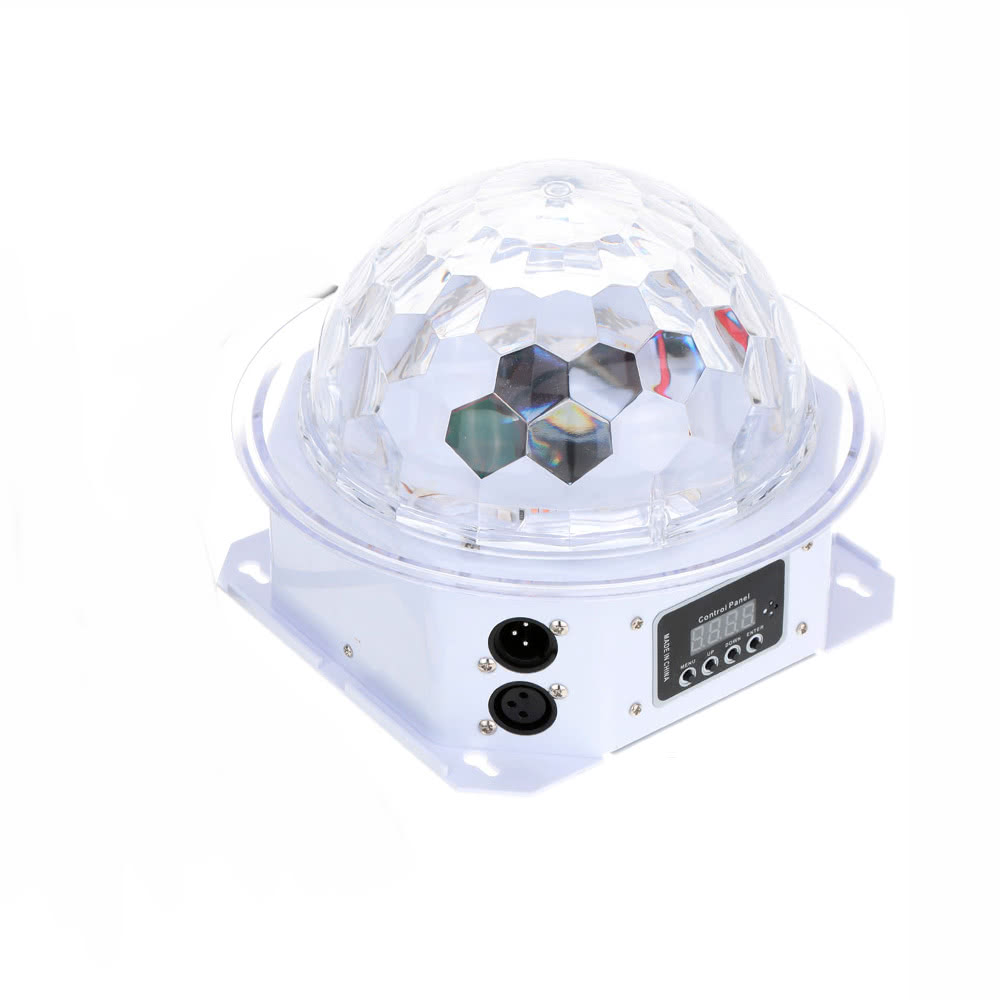 Lixada 20W LED Rotating Strobe RGBPYW Crystal Magic Ball Effect Par Light Sales Online eu - Tomtop