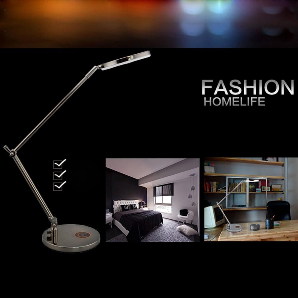 Lixada rotatif pliable flexible 9w led lumi re lampe de - Interrupteur lampe de bureau ...