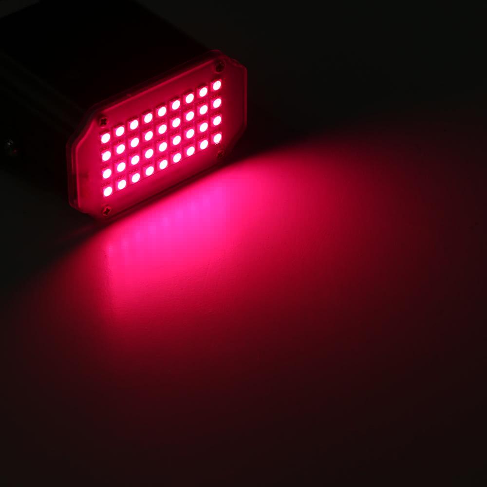 8w mini 36pcs rgb leds stadiums effekt licht blitz blitzlicht auto run stroboscopic dj club. Black Bedroom Furniture Sets. Home Design Ideas