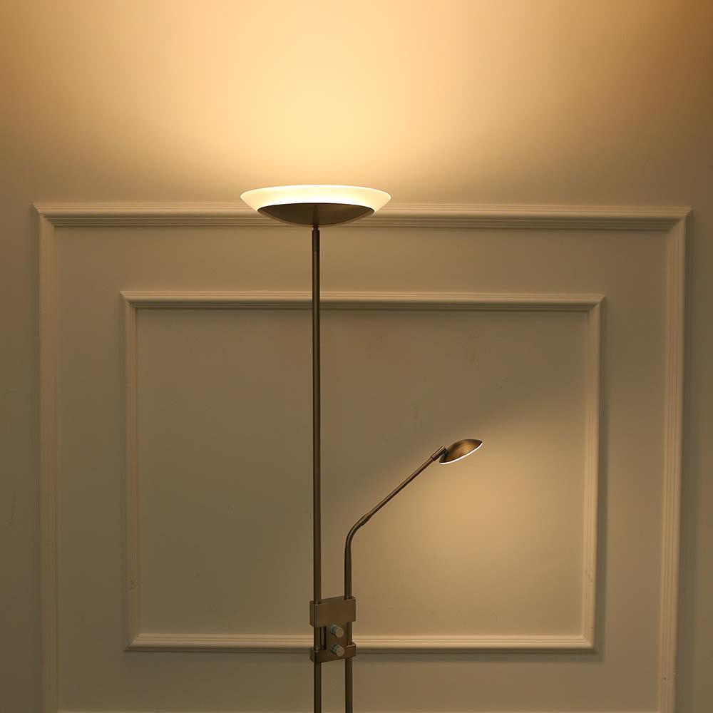 Lampada da terra tomshine 71 pollici di 15w led con 3w led for Lampada a led camera da letto