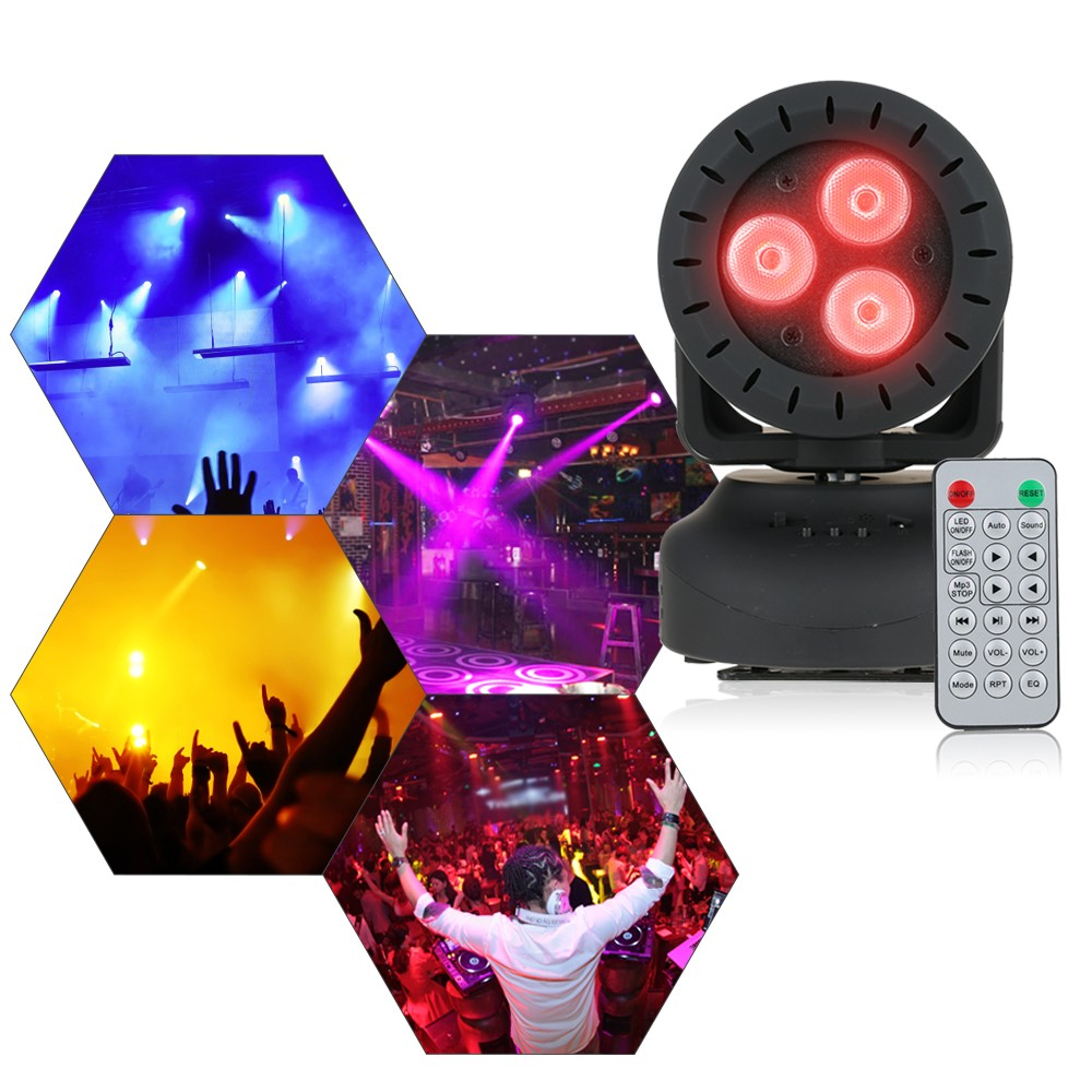 15W 3LEDs RGBW 4 In 1 Beam Moving Head Wash Effect Stage Light Sales Online Eu