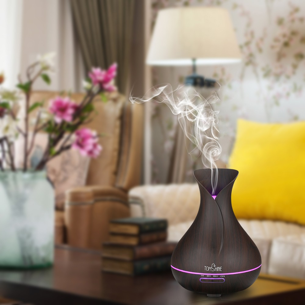 beste tomshine ultraschall aroma therisches l diffusor 400ml us stecker verkauf online. Black Bedroom Furniture Sets. Home Design Ideas