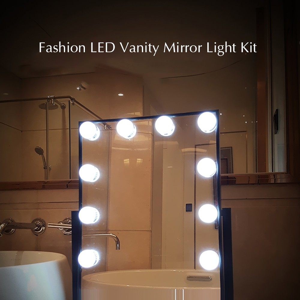 Best Vanity Mirror Led Light Kit With Touch Control Diy