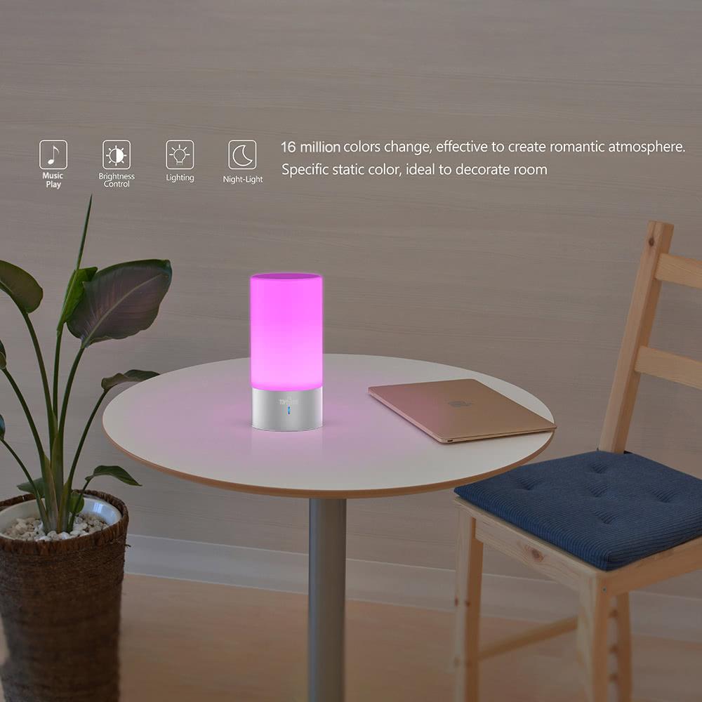 Tomshine rgb 16 millions de couleurs tactile ambiance led for Interieur smart 2000