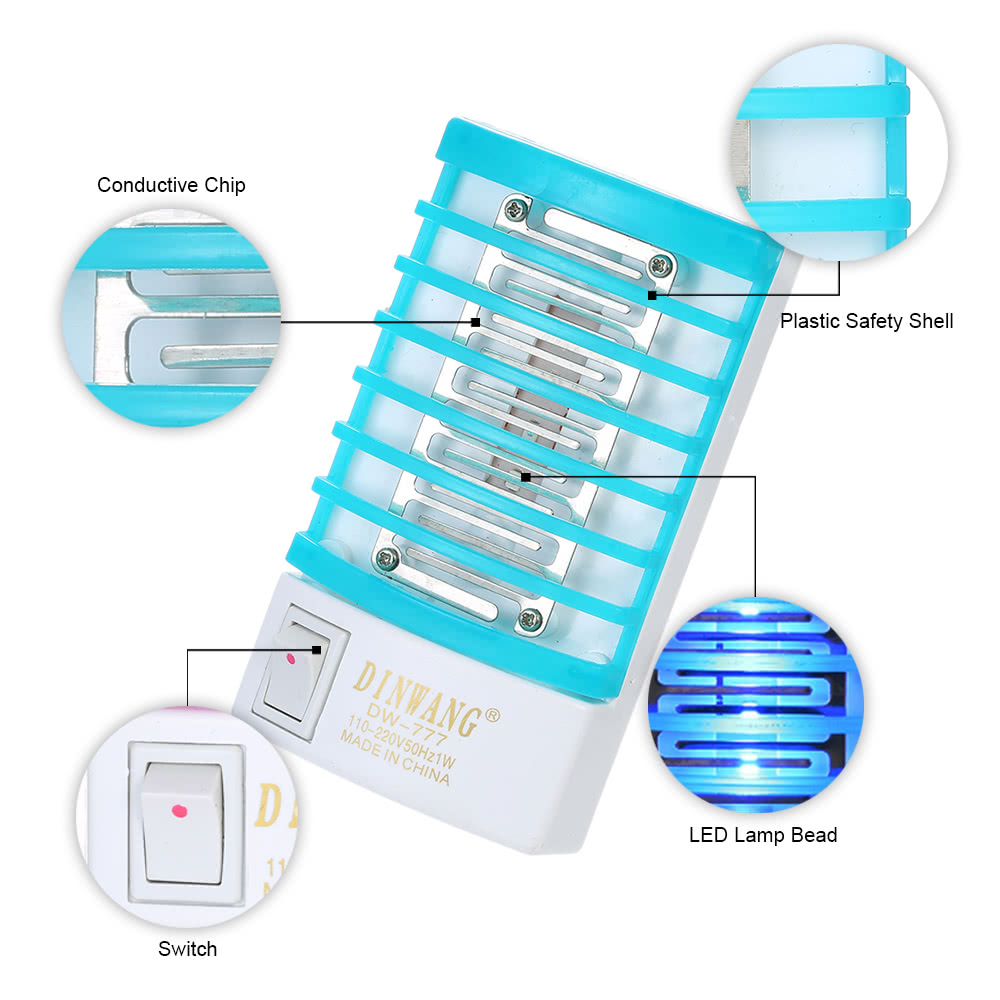 Mosquito Killer Lamp Circuit Diagram Cheap Portable Bug Zapper Schematic Affordable V Mini Led Night Light Electric Trap Insect Flies Repellent With
