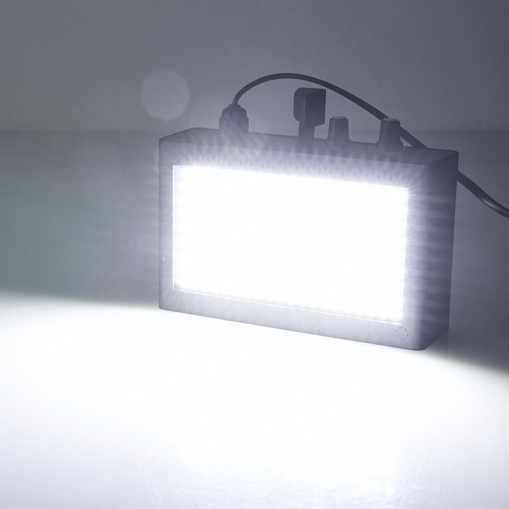 Tomshine 180 Leds Strobe Flash Light Lamp Portable Auto Running Led Stroboscope Notes 1 This Product Is Non Waterproof Please Use It Carefully 2 The Hanging Hook And Nail Are Not Provided Package List