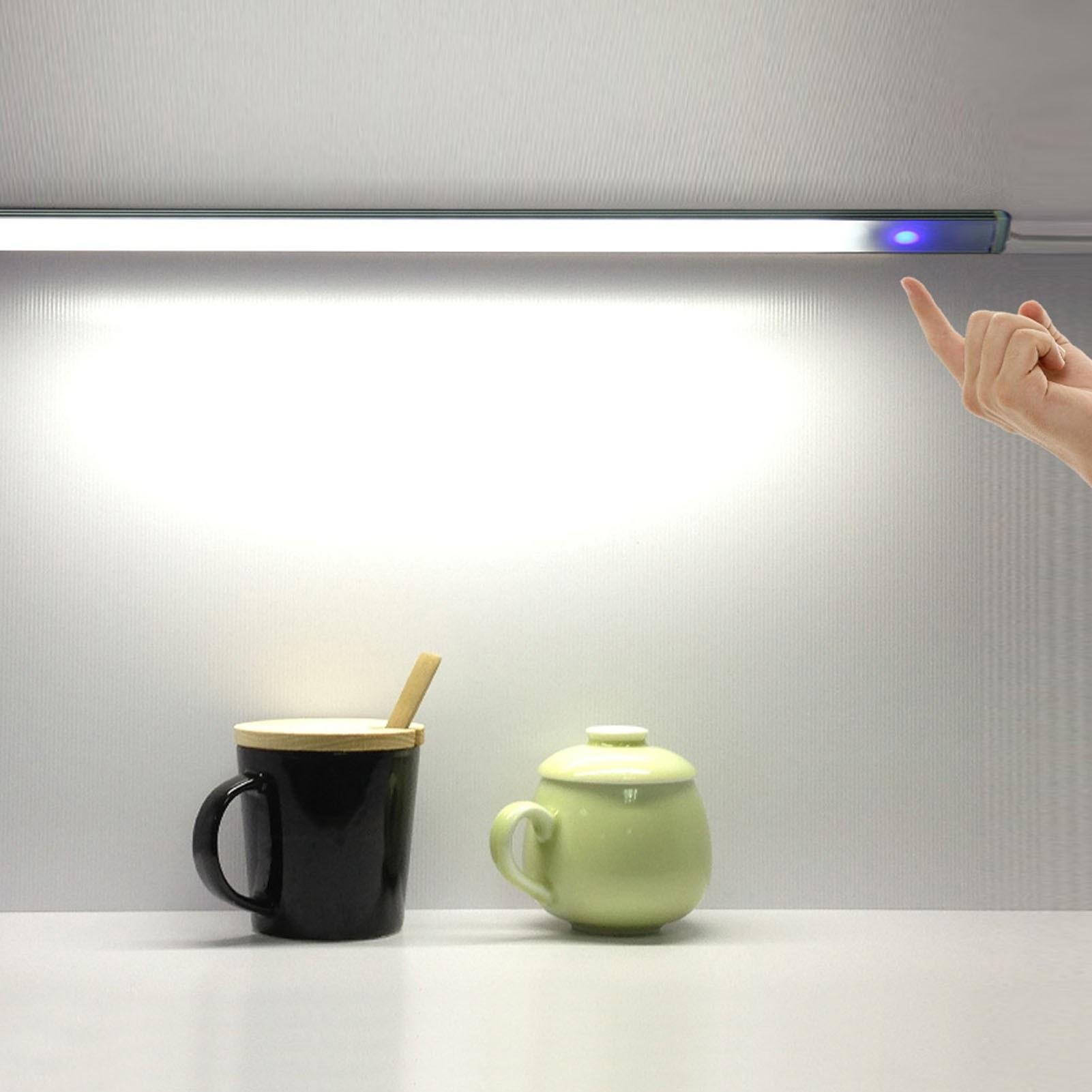cafago.com - 55% OFF 21 LEDs Cabinet Lamp Night Light Slim Deisgn Seneitive Touching Control,free shipping+$11.17