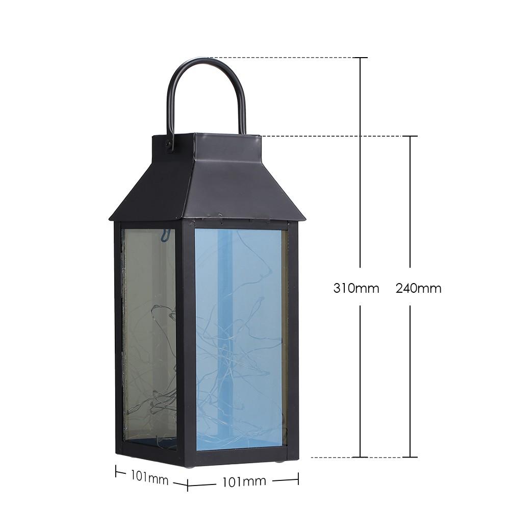 Tomshine Copper Wire Solar Power Energy Lantern Fairy String Light ...