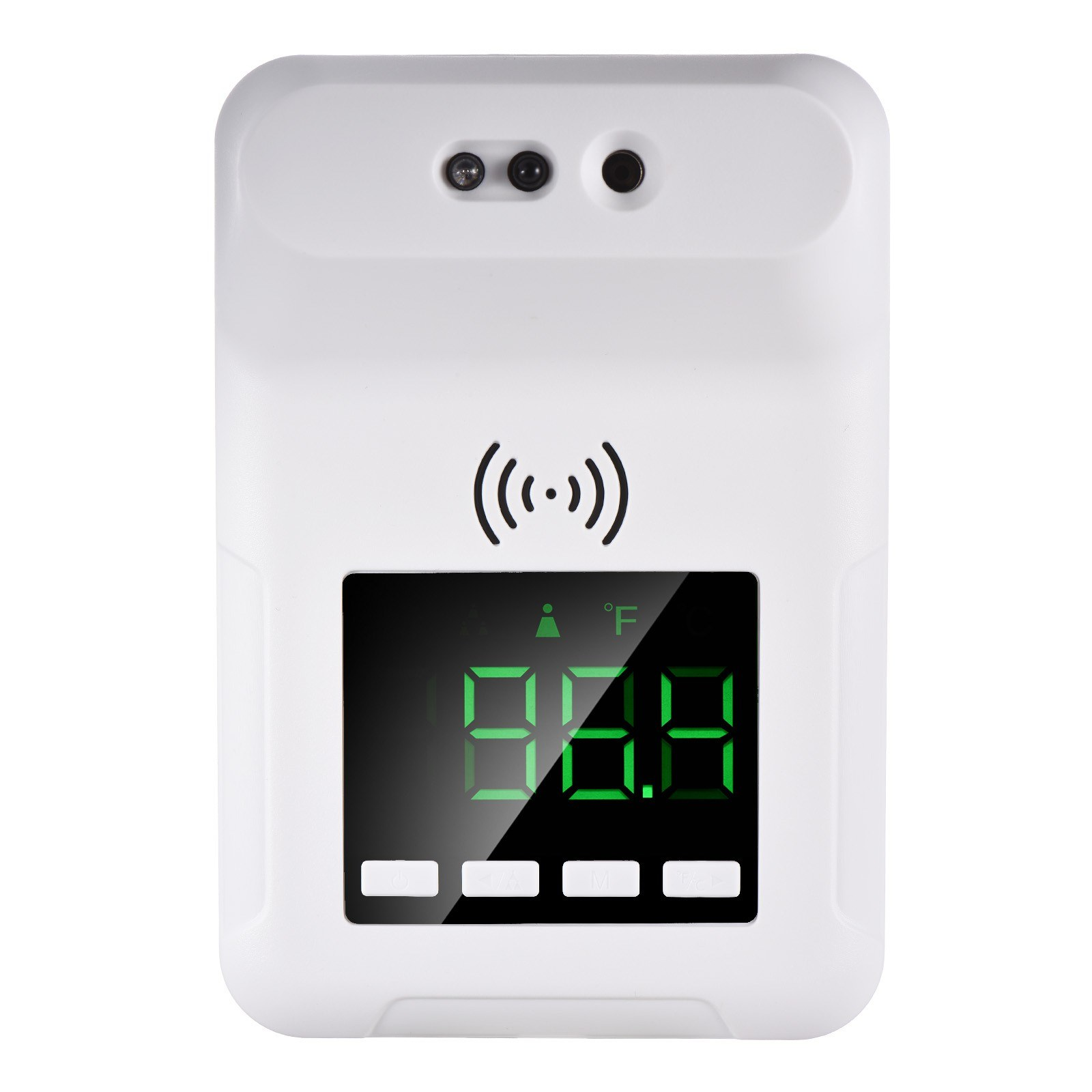 Tomtop - 41% OFF Touchless IR Thermometer 2 Power Ways 3 Fixations, Free Shipping $16.49