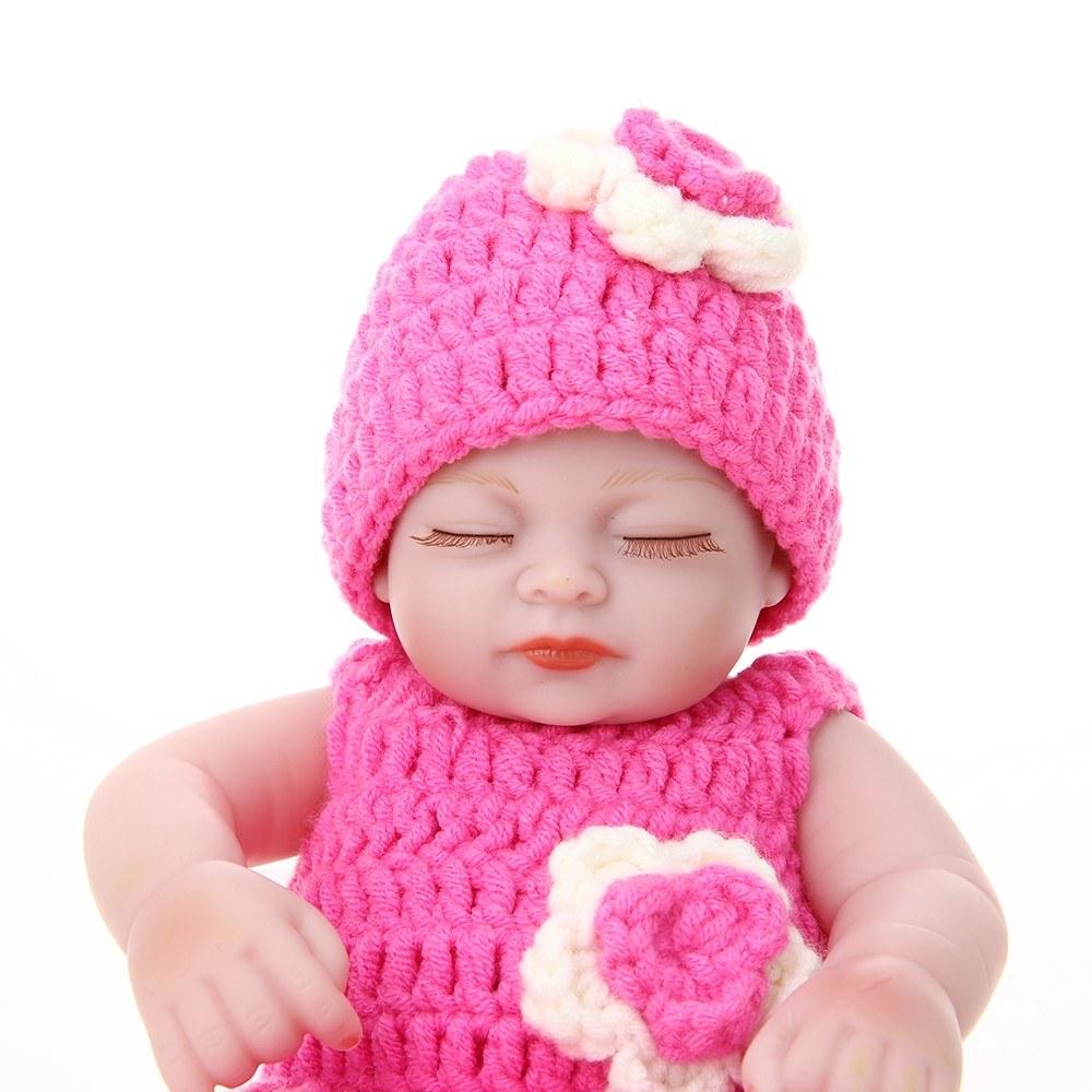 Reborn baby doll girl cuerpo de silicona completa juguete del baño ...