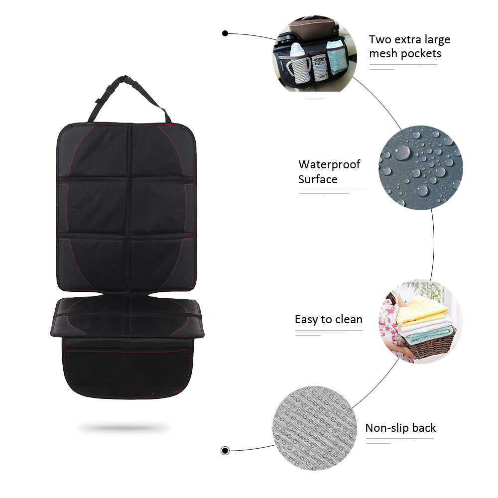 Car Seat Protector Back Cover Pet Mat Full Length Padded Waterproof Non Slip For Infant Baby Kids Safety Sales Online