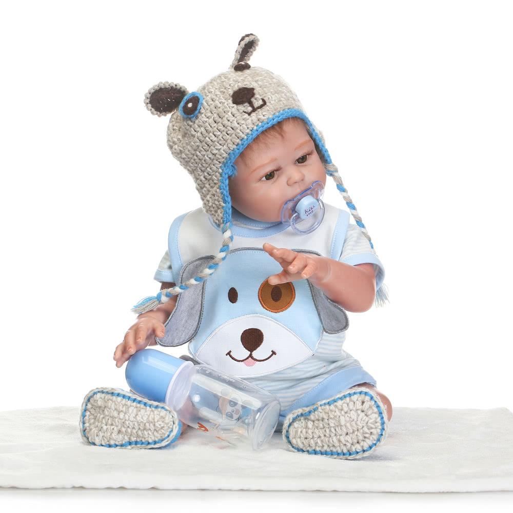 Newborn Baby Girl Toys : Reborn baby doll girl bath toy full silicone body