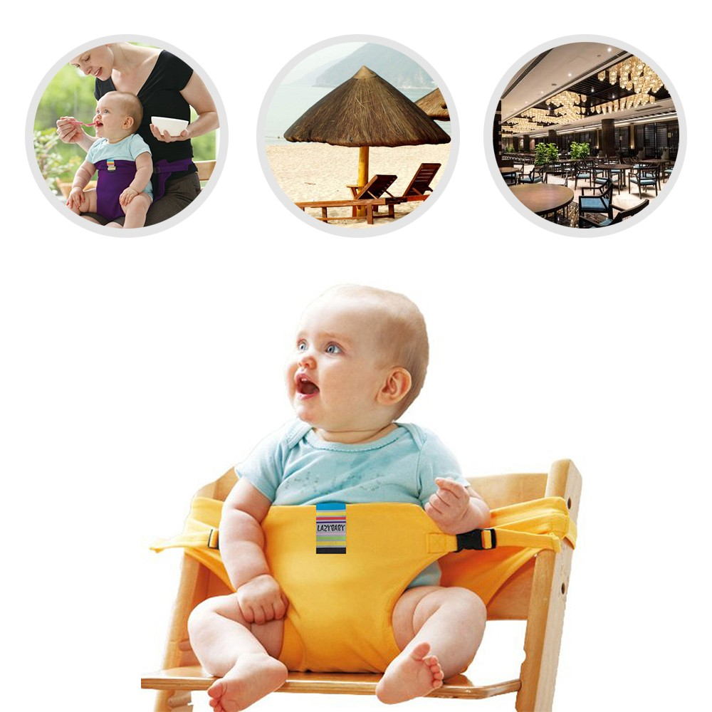 Baby High Chair Harness Portable Safety Belt