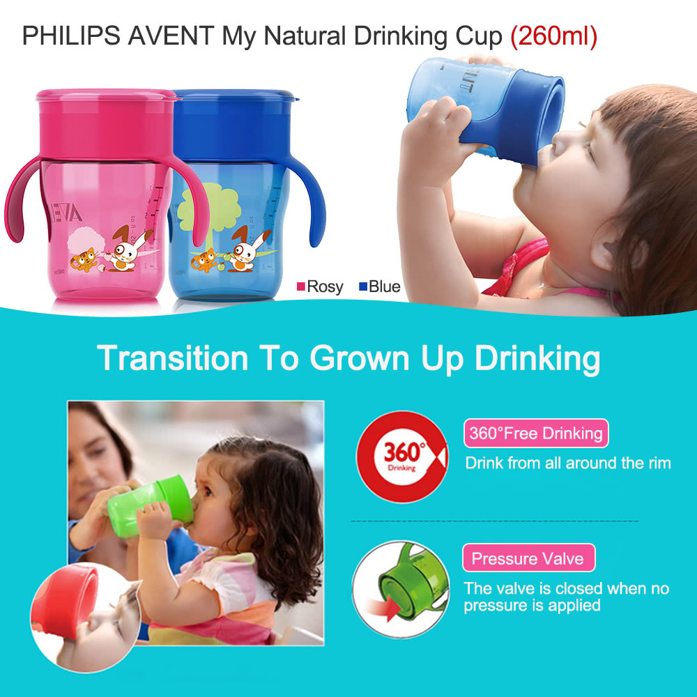avent natural drinking cup instructions