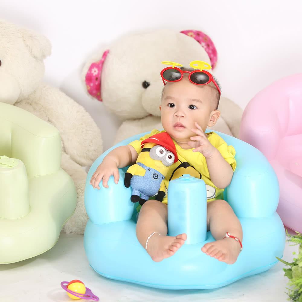Silla inflable para beb s sof port til para ni os asiento for Sillas para hacer del bano