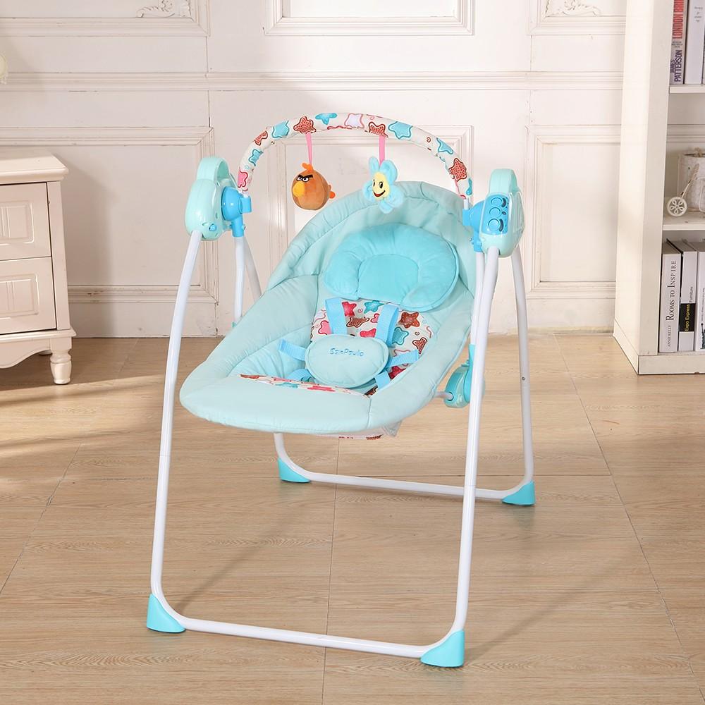 elektrische babywiege schaukel schaukel fernbedienung stuhl schlafkorb bett krippe f r. Black Bedroom Furniture Sets. Home Design Ideas