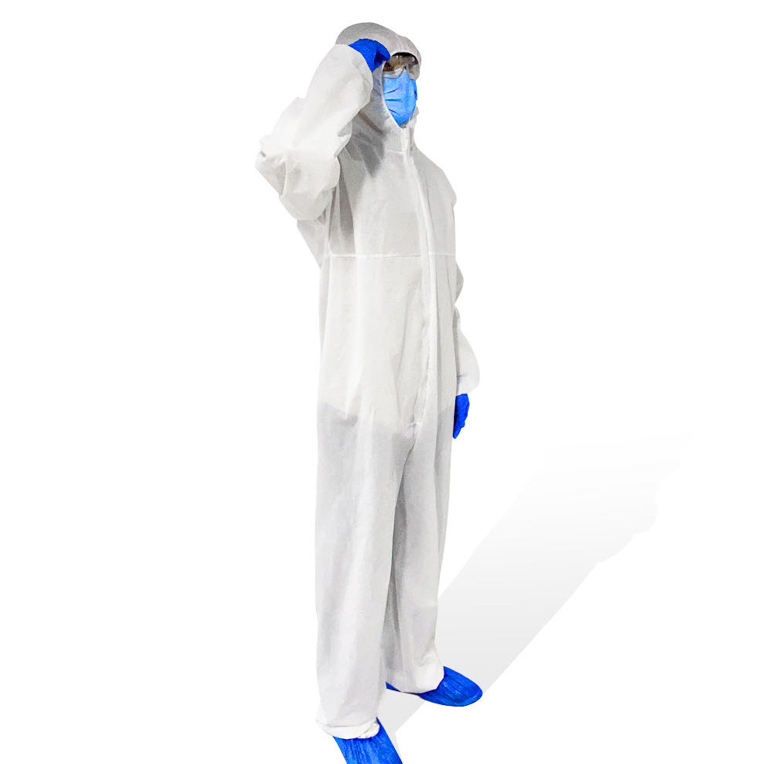 Protective Suit Breathable Protective Coverall Hazmat Suits