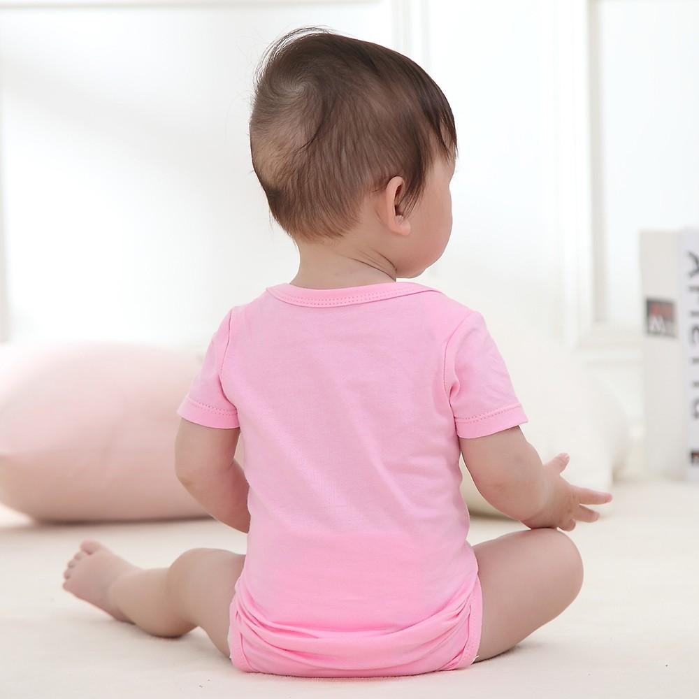 5pcs conjunto de mamelucos del bebé Body 100% algodón de manga corta ...