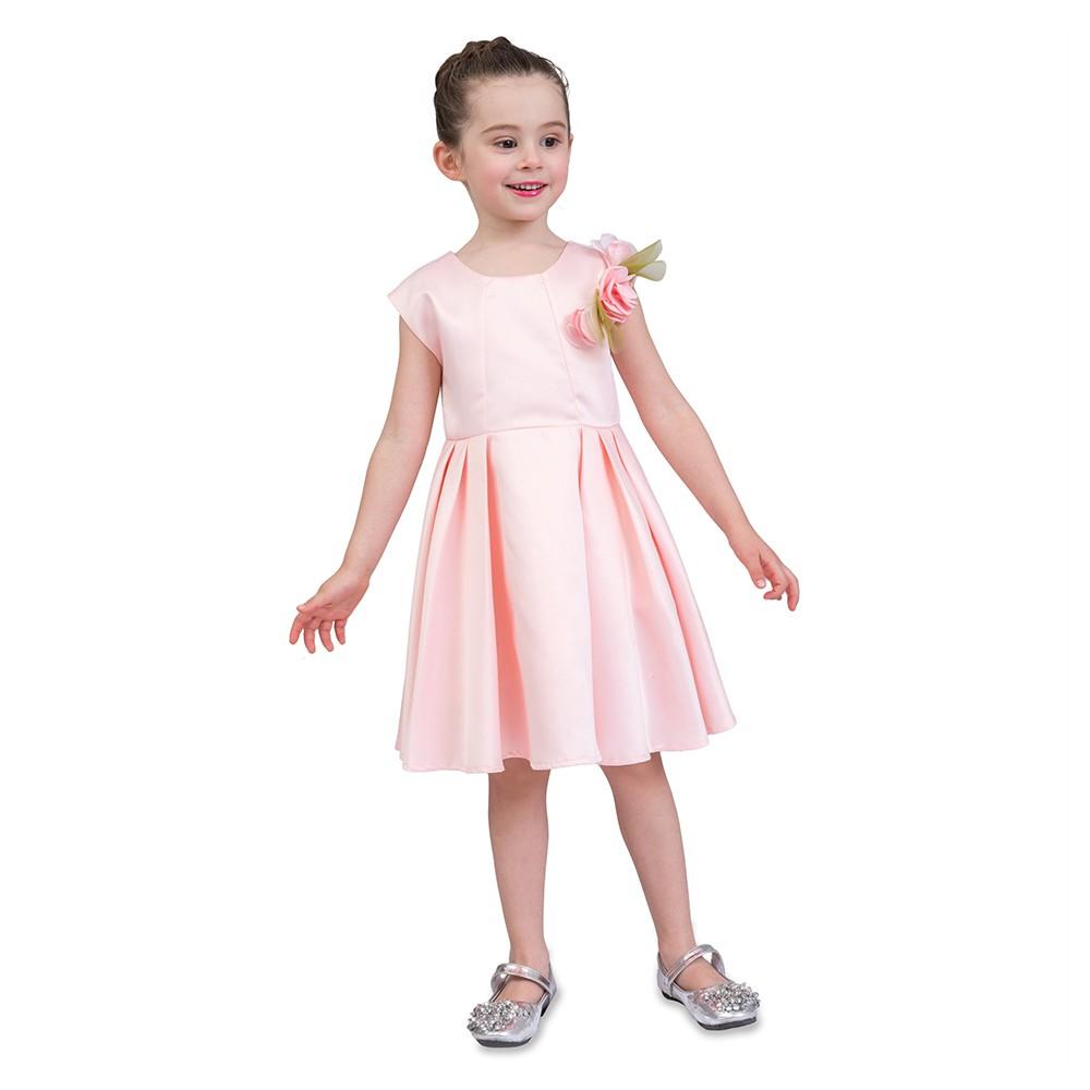 Girls Dress Cute Casual Flower Pricess Dress Kids Formal Evening ...
