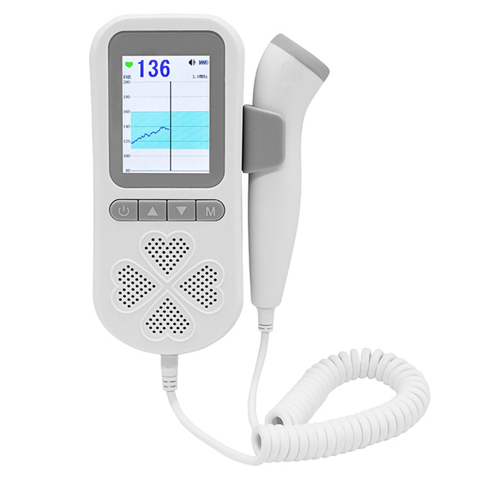 tomtop.com - 53% OFF Doppler Handheld Baby Heart Rate Detector, Free Shipping $26.99