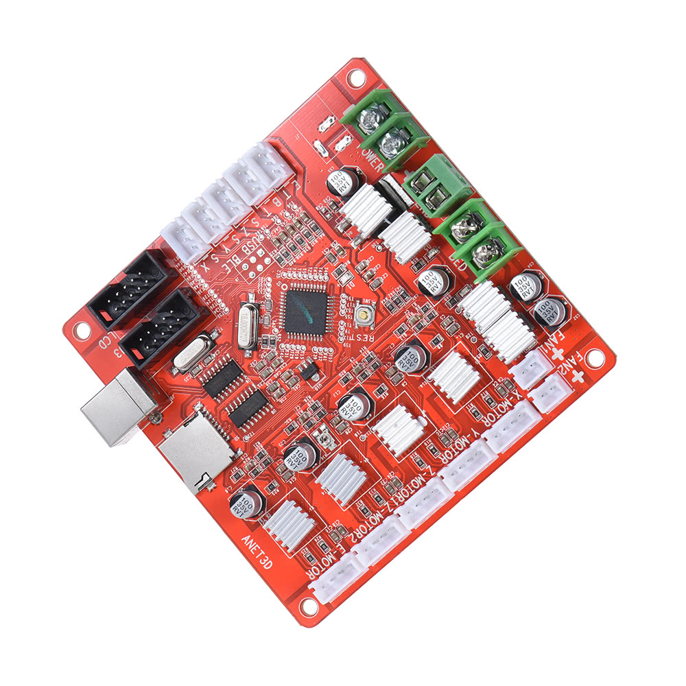 Anet A1284 Base Control Board Mother Mainboard Sales Online 1 Dvr Block Diagram 3d Printer Projector Please Pay More Attention To The Circuit Showed In Picture Before Mount It