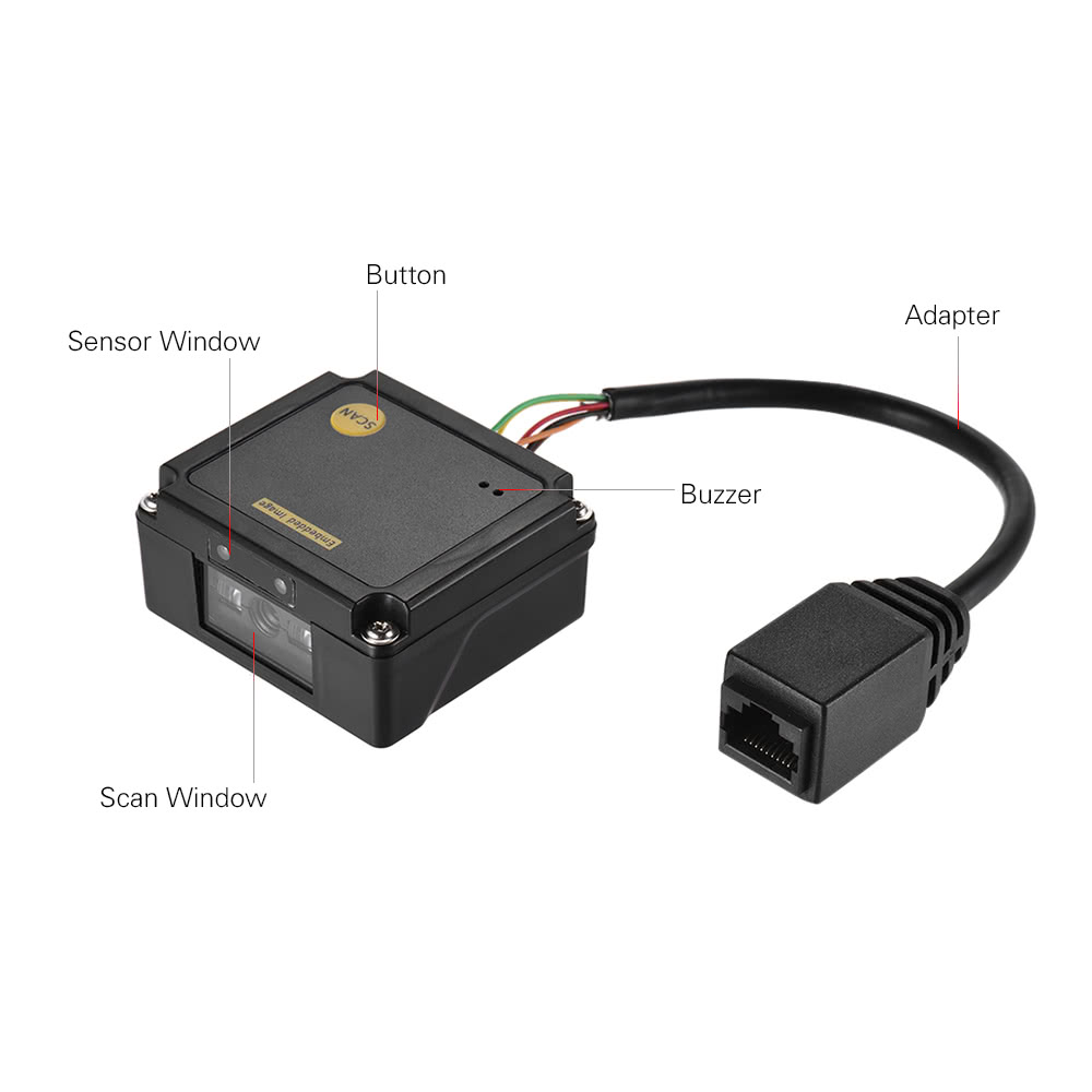 Embedded 1D Barcode Scanner Reader Module CCD Bar Code