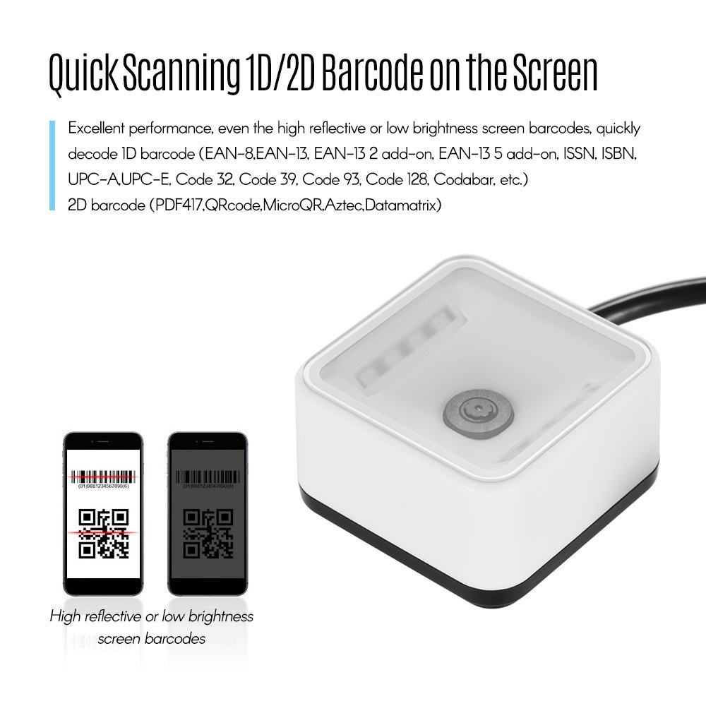 Best EP7000 Mini 1D/2D/QR Barcode 01# Sale Online Shopping | Cafago com
