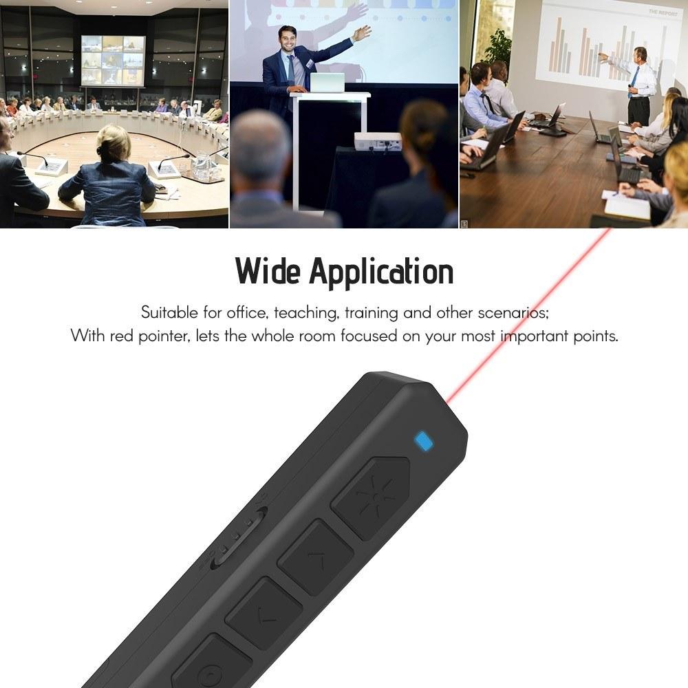 افضل PPT Clicker Flip Pen für Noomya M100 Powerpoint أسود بيع التسوق عبر  الإنترنت | Cafago com