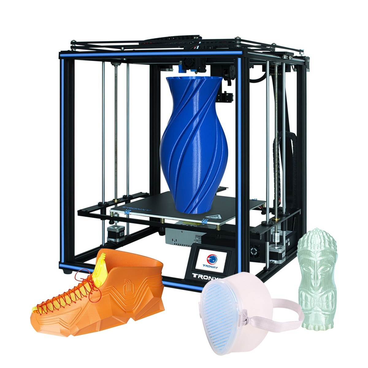 Cafago - 52% OFF Tronxy X5SA-400PRO High Precision 3D Printer,free shipping+$566.89