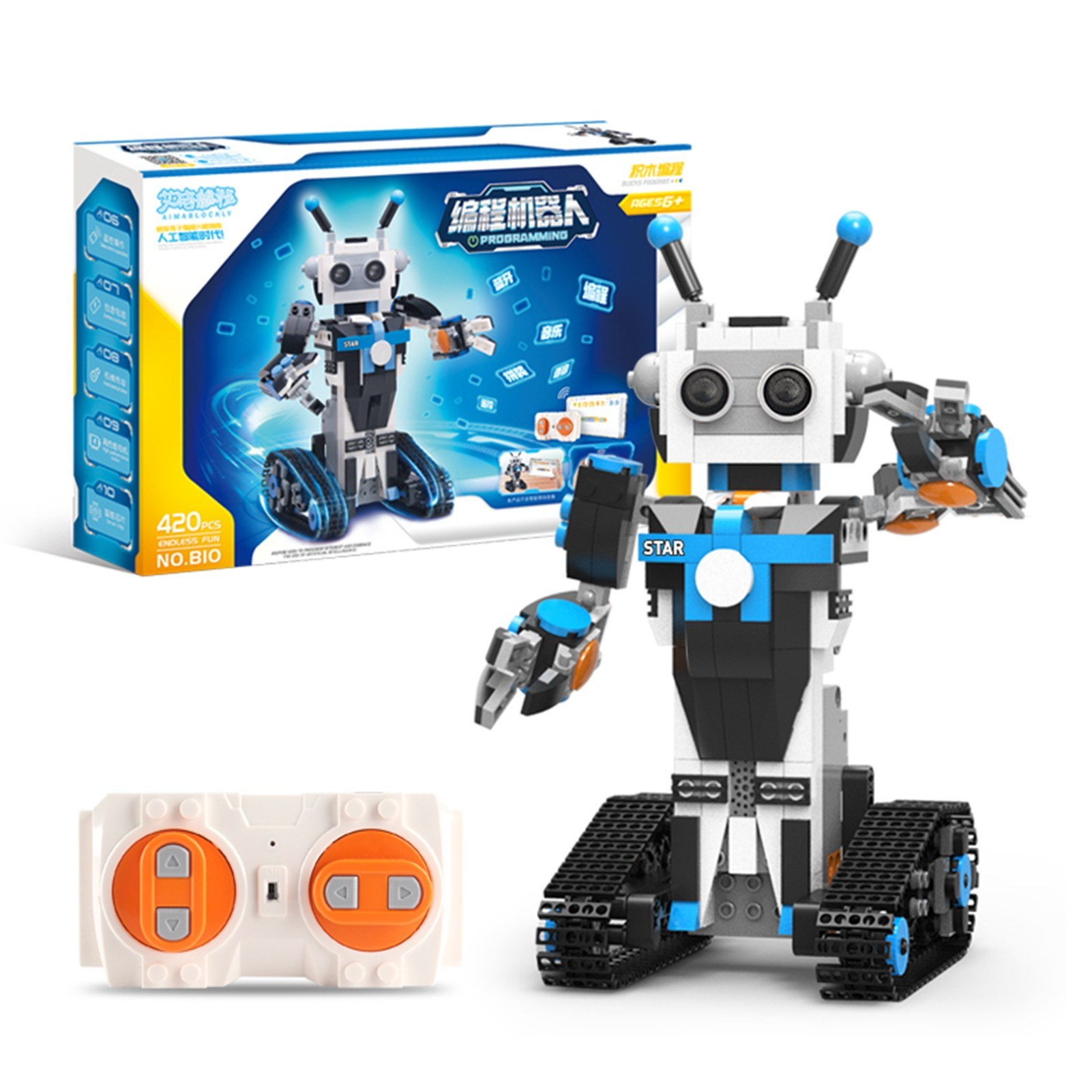 tomtop.com - 43% OFF Smart Robot DIY Kit, Free Shipping $35.99