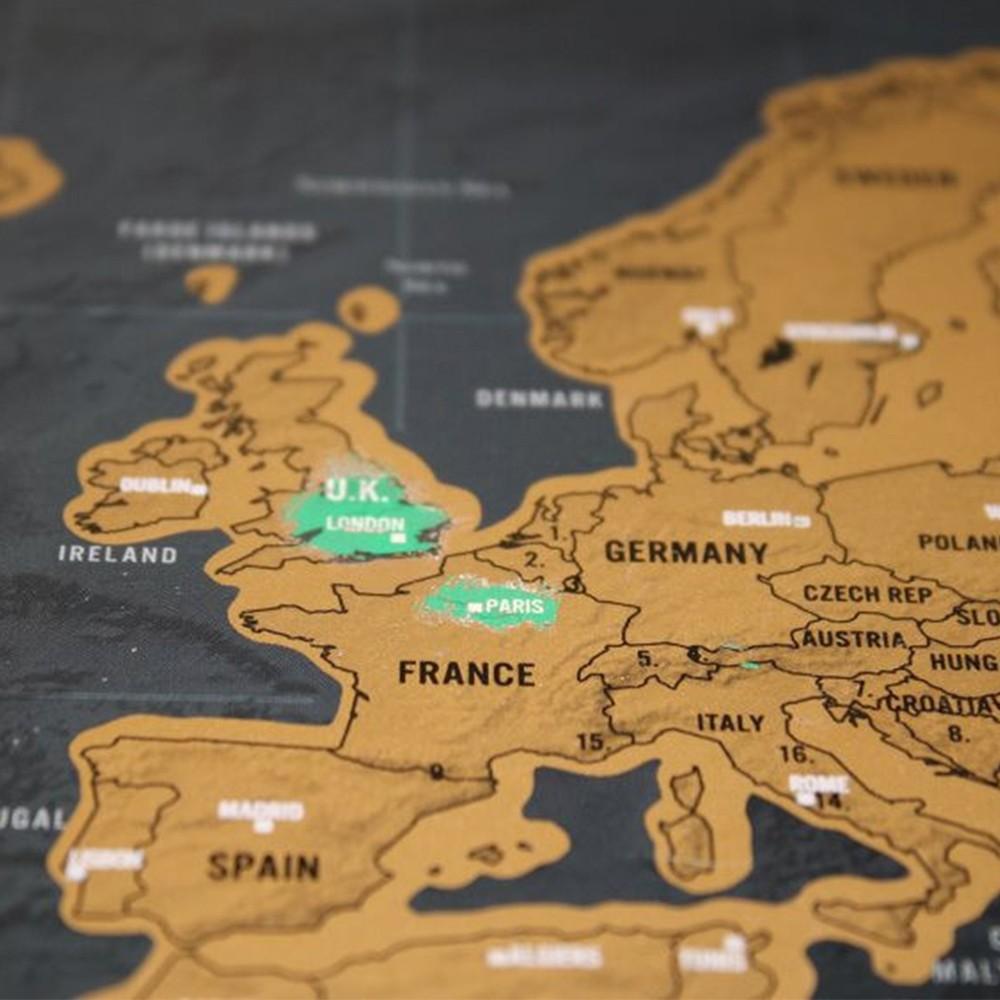 Scratch world map travel edition original 42 30cm 3 tomtop gumiabroncs Choice Image