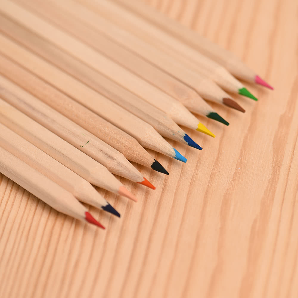 12pcs pack environmentally friendly lovely color pencil for Eco friendly colours for painting