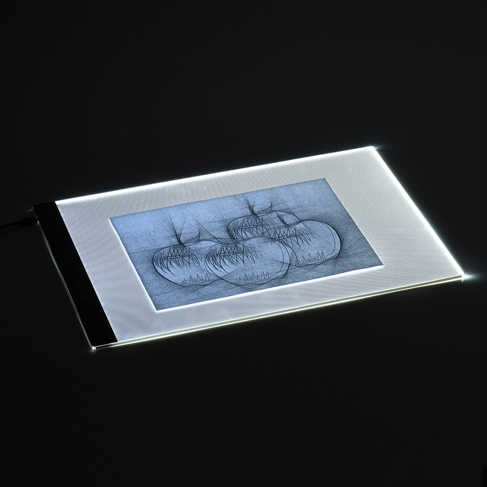 buyershall art box products set artist board new light stencil thin drawing tracer led tracing
